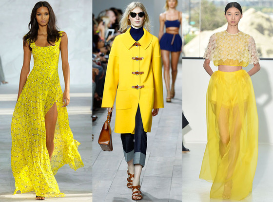How to survive 2015 fashion – How to wear yellow.