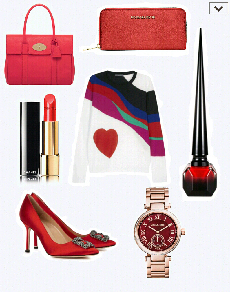 Valentines gifts for her – Think red!