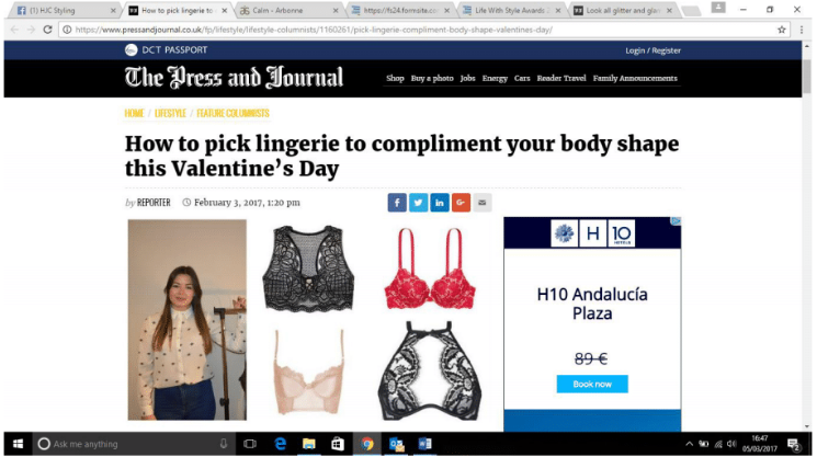 How to pick lingerie to compliment your body shape