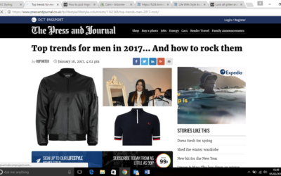 Top trends for men in 2017… And how to rock them