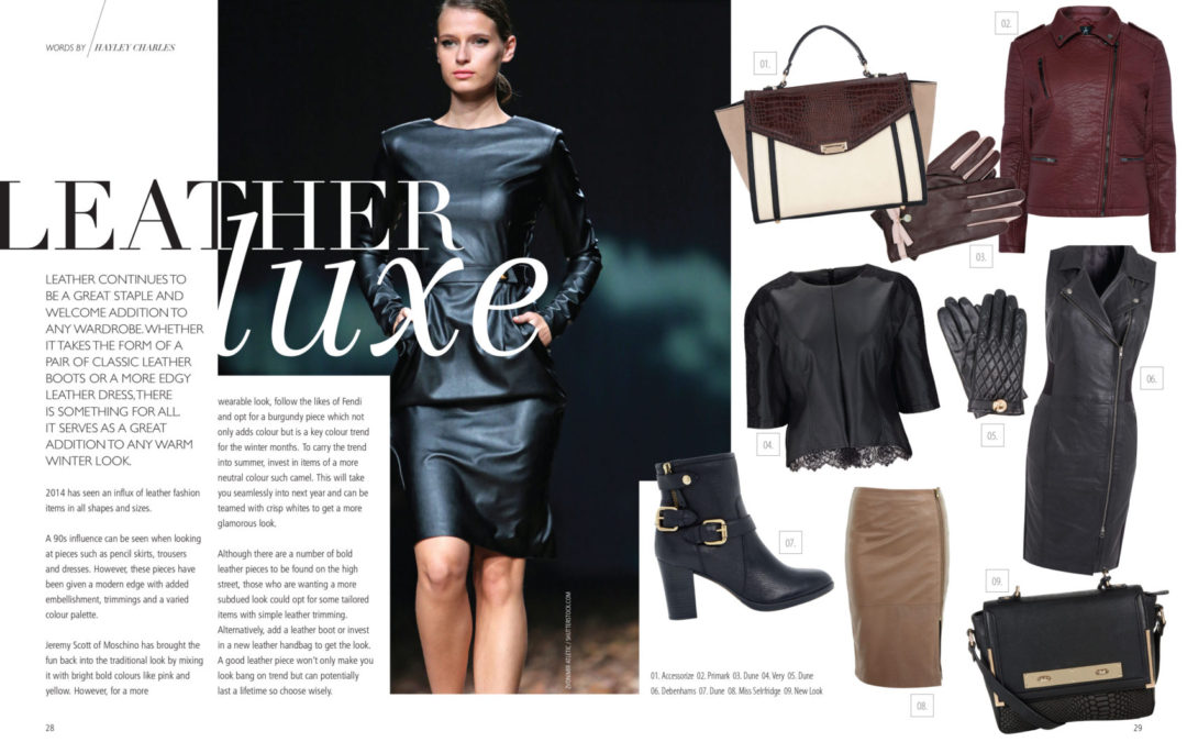 Leather Luxe – Trend